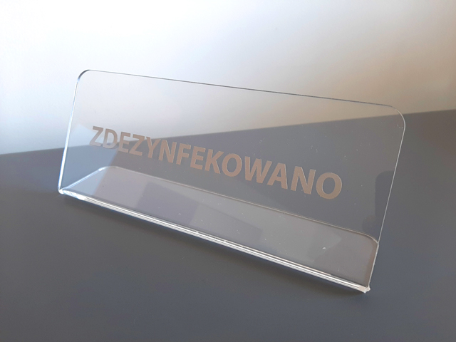 Tabliczki informacyjne  i przydrzwiowe