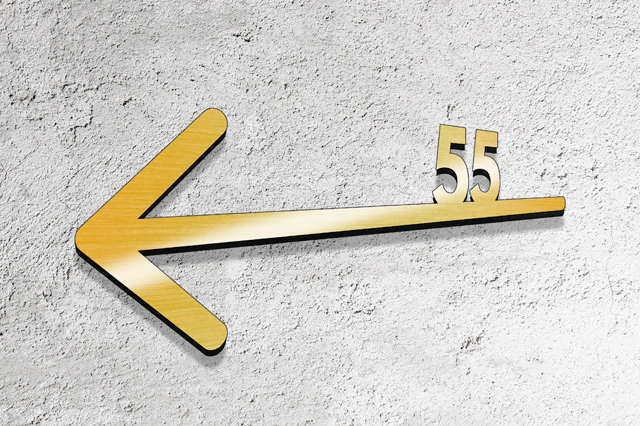 litery tabliczki 3d